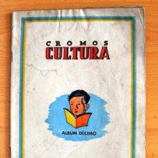 Álbum de fútbol completo: CROMOS CULTURA ALBUM DÉCIMO - EDITORIAL BRUGUERA 1942 - VER FOTOS INTERIORES. Lote 39011867