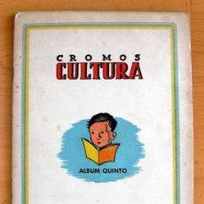 Álbum de fútbol completo: CROMOS CULTURA ALBUM QUINTO - EDITORIAL BRUGUERA 1942 - VER FOTOS INTERIORES. Lote 39012090