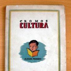 Álbum de fútbol completo: CROMOS CULTURA ALBUM PRIMERO - EDITORIAL BRUGUERA 1942 - COMPLETO - VER FOTOS INTERIORES. Lote 39012729