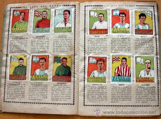Álbum de fútbol completo: Cromos Cultura Album Primero - Editorial Bruguera 1942 - Completo - Ver fotos interiores - Foto 6 - 39012729