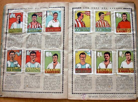 Álbum de fútbol completo: Cromos Cultura Album Primero - Editorial Bruguera 1942 - Completo - Ver fotos interiores - Foto 8 - 39012729