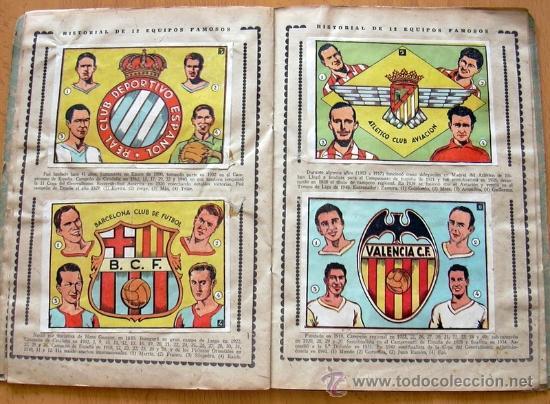 Álbum de fútbol completo: Cromos Cultura Album Primero - Editorial Bruguera 1942 - Completo - Ver fotos interiores - Foto 10 - 39012729