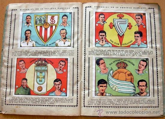 Álbum de fútbol completo: Cromos Cultura Album Primero - Editorial Bruguera 1942 - Completo - Ver fotos interiores - Foto 11 - 39012729