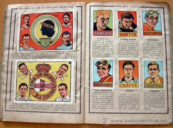Álbum de fútbol completo: Cromos Cultura Album Primero - Editorial Bruguera 1942 - Completo - Ver fotos interiores - Foto 12 - 39012729