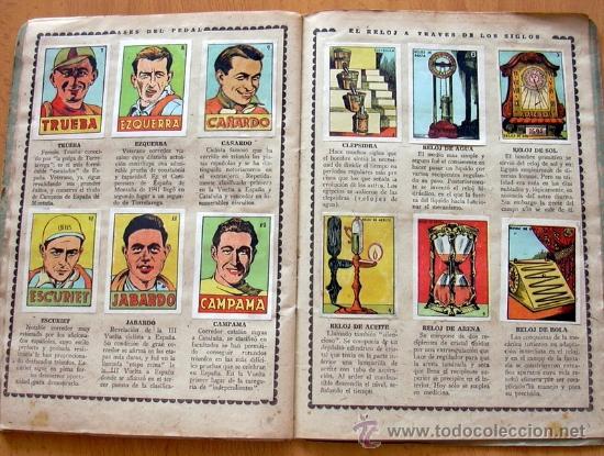 Álbum de fútbol completo: Cromos Cultura Album Primero - Editorial Bruguera 1942 - Completo - Ver fotos interiores - Foto 13 - 39012729