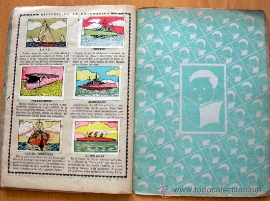 Álbum de fútbol completo: Cromos Cultura Album Primero - Editorial Bruguera 1942 - Completo - Ver fotos interiores - Foto 17 - 39012729