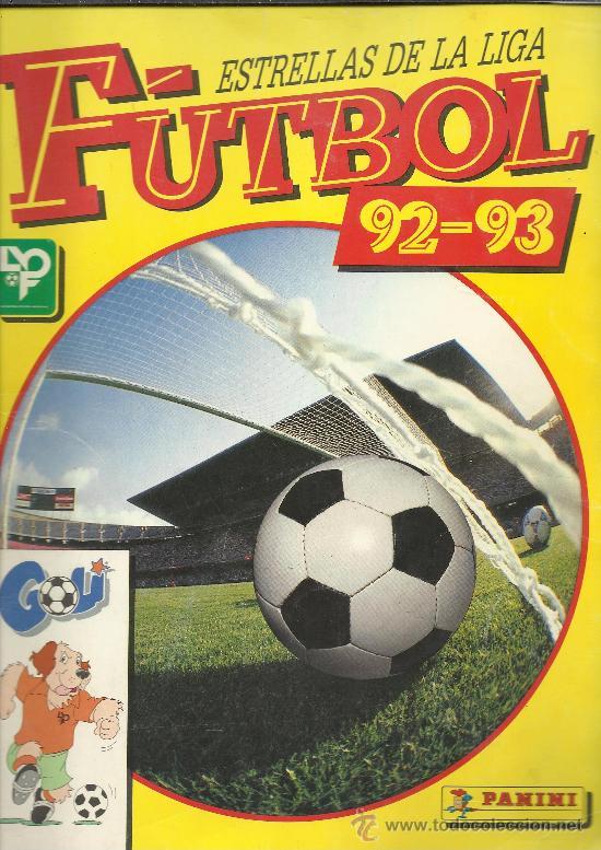 ESTRELLAS DE LA LIGA FÚTBOL 92-93 PANINI ALBUM COMPLETO (Coleccionismo Deportivo - Álbumes y Cromos de Deportes - Álbumes de Fútbol Completos)