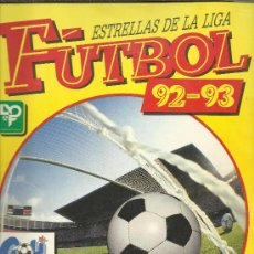 Álbum de fútbol completo: ESTRELLAS DE LA LIGA FÚTBOL 92-93 PANINI ALBUM COMPLETO . Lote 39115780