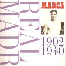 Álbum de fútbol completo: REAL MADRID 1902 1940. Lote 39164996