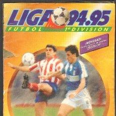 Album de football complet: ALBUM DE CROMOS LIGA 94-95. FÚTBOL 1ª DIVISIÓN. COMPLETO A-ALB-909. Lote 39183784