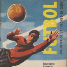 Álbum de fútbol completo: ALBUM FUTBOL LIGA 1960 Y COPA DE EUROPA. EDITORIAL RUIZ ROMERO.. Lote 39457228