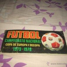 Álbum de fútbol completo: ALBUM DE LA LIGA 1975-76 DE RUIZ ROMERO COMPLETO. Lote 39534552