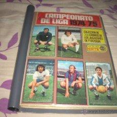 Álbum de fútbol completo: COLECCION COMPLETA EN FICHERO DE LA LIGA 1974-75 DE ESTE. Lote 39534648