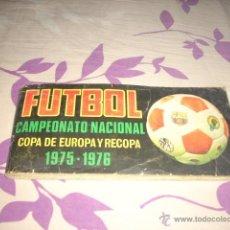 Álbum de fútbol completo: ALBUM DE LA LIGA 1975-76 DE RUIZ ROMERO COMPLETO,,POR COMPRA SUPERIOR A 1000 EU,REGALO 200,APROVECHA. Lote 39542194