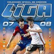 Álbum de fútbol completo: LIGA ESTE 2007-2008 COLECCIÓN COMPLETA + ALBUM PLANCHA (SIN PEGAR). Lote 39764608