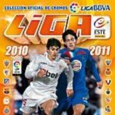 Álbum de fútbol completo: COLECCIÓN COMPLETA LIGA ESTE 2010.2011 + ALBUM PLANCHA. (SIN PEGAR). Lote 39795391