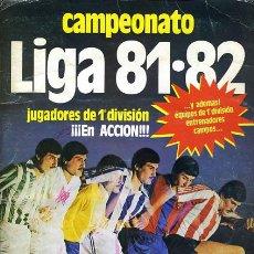Álbum de fútbol completo: ALBUM FUTBOL LIGA 1981 1982 81 82 , EDICIONES ESTE, COMPLETO, ORIGINAL , F. Lote 39839912