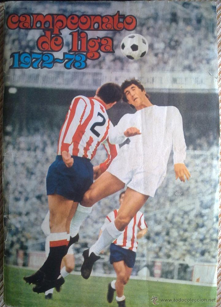 ÁLBUM DE FÚTBOL FHER DISGRA 1972 1973 TEMPORADA 72 73 CON TODO LO EDITADO! POSTER CENTRAL COMPLETO! (Coleccionismo Deportivo - Álbumes y Cromos de Deportes - Álbumes de Fútbol Completos)