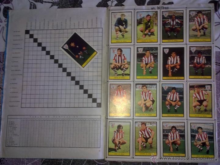 Álbum de fútbol completo: Álbum de Fútbol Fher Disgra 1972 1973 temporada 72 73 con todo lo editado! Poster Central Completo! - Foto 3 - 40118086
