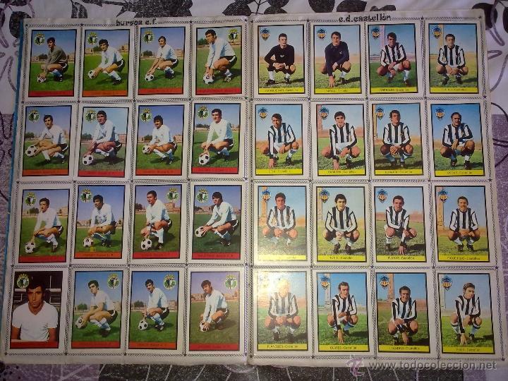 Álbum de fútbol completo: Álbum de Fútbol Fher Disgra 1972 1973 temporada 72 73 con todo lo editado! Poster Central Completo! - Foto 5 - 40118086