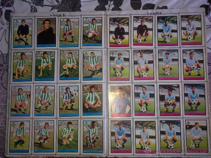 Álbum de fútbol completo: Álbum de Fútbol Fher Disgra 1972 1973 temporada 72 73 con todo lo editado! Poster Central Completo! - Foto 7 - 40118086