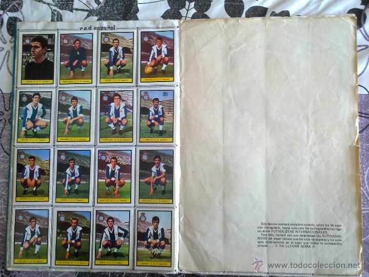 Álbum de fútbol completo: Álbum de Fútbol Fher Disgra 1972 1973 temporada 72 73 con todo lo editado! Poster Central Completo! - Foto 8 - 40118086