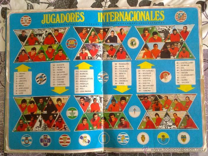 Álbum de fútbol completo: Álbum de Fútbol Fher Disgra 1972 1973 temporada 72 73 con todo lo editado! Poster Central Completo! - Foto 9 - 40118086