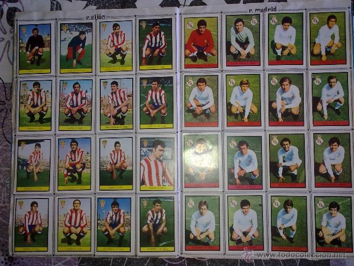 Álbum de fútbol completo: Álbum de Fútbol Fher Disgra 1972 1973 temporada 72 73 con todo lo editado! Poster Central Completo! - Foto 11 - 40118086