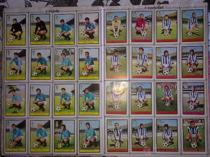 Álbum de fútbol completo: Álbum de Fútbol Fher Disgra 1972 1973 temporada 72 73 con todo lo editado! Poster Central Completo! - Foto 12 - 40118086