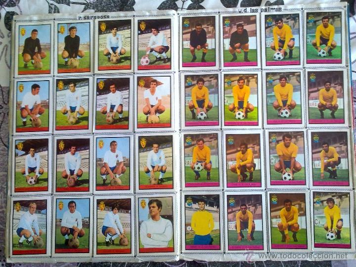 Álbum de fútbol completo: Álbum de Fútbol Fher Disgra 1972 1973 temporada 72 73 con todo lo editado! Poster Central Completo! - Foto 13 - 40118086