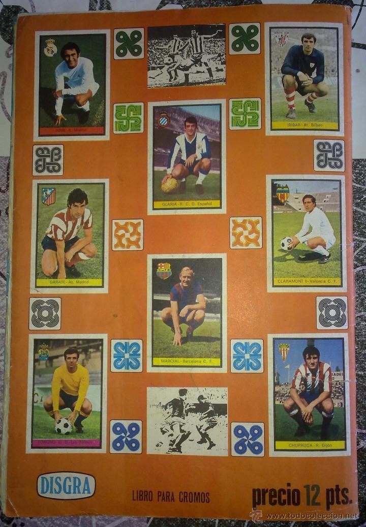 Álbum de fútbol completo: Álbum de Fútbol Fher Disgra 1972 1973 temporada 72 73 con todo lo editado! Poster Central Completo! - Foto 17 - 40118086