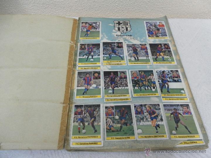Álbum de fútbol completo: Álbum de cromos. Campeonato de futbol. Liga 81/ 82. Completo - Foto 2 - 40148563
