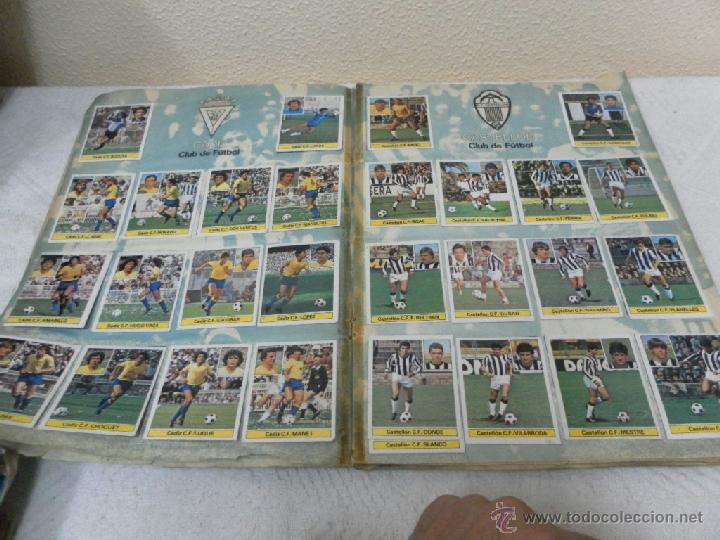 Álbum de fútbol completo: Álbum de cromos. Campeonato de futbol. Liga 81/ 82. Completo - Foto 4 - 40148563