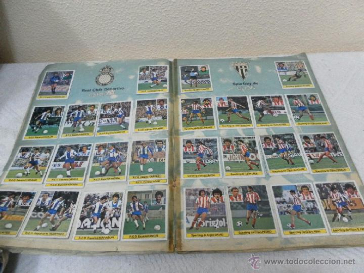 Álbum de fútbol completo: Álbum de cromos. Campeonato de futbol. Liga 81/ 82. Completo - Foto 5 - 40148563