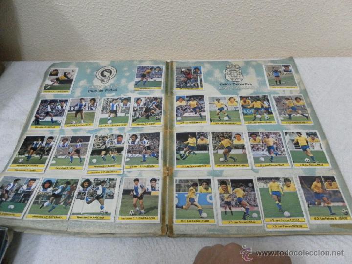 Álbum de fútbol completo: Álbum de cromos. Campeonato de futbol. Liga 81/ 82. Completo - Foto 6 - 40148563