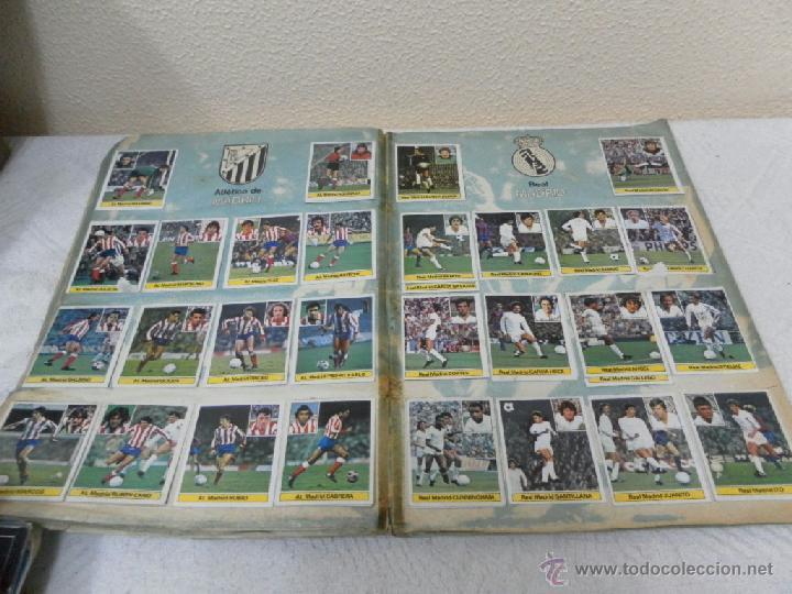 Álbum de fútbol completo: Álbum de cromos. Campeonato de futbol. Liga 81/ 82. Completo - Foto 7 - 40148563