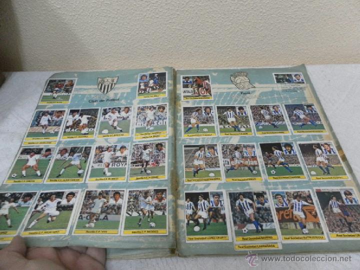 Álbum de fútbol completo: Álbum de cromos. Campeonato de futbol. Liga 81/ 82. Completo - Foto 10 - 40148563
