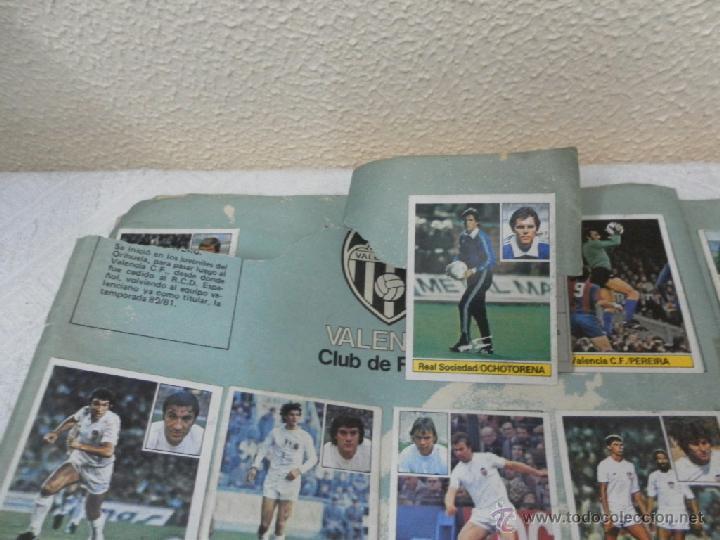 Álbum de fútbol completo: Álbum de cromos. Campeonato de futbol. Liga 81/ 82. Completo - Foto 12 - 40148563