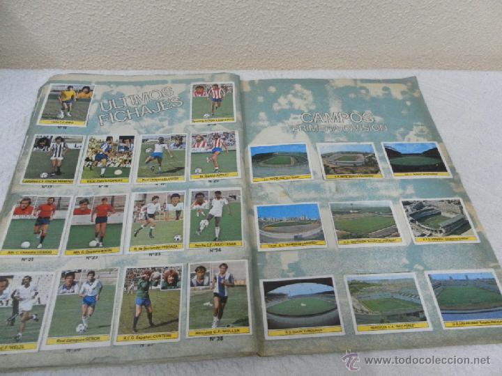 Álbum de fútbol completo: Álbum de cromos. Campeonato de futbol. Liga 81/ 82. Completo - Foto 14 - 40148563