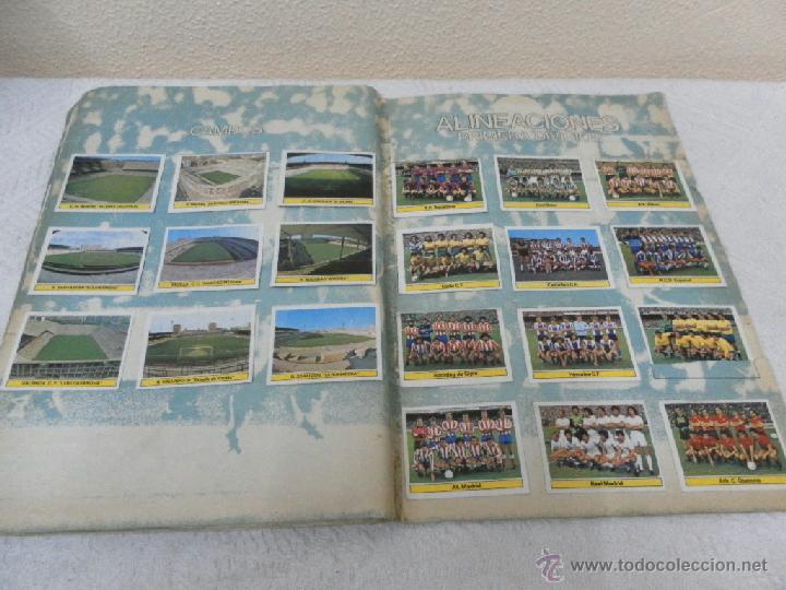Álbum de fútbol completo: Álbum de cromos. Campeonato de futbol. Liga 81/ 82. Completo - Foto 15 - 40148563