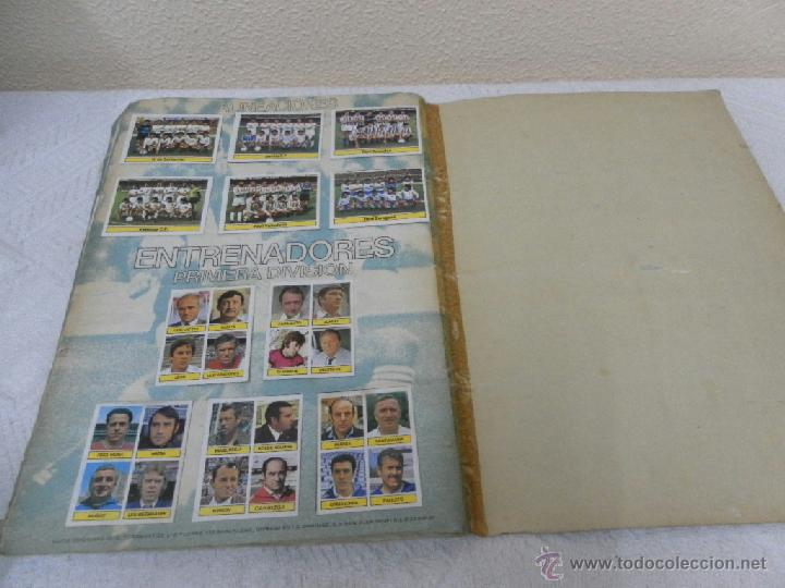 Álbum de fútbol completo: Álbum de cromos. Campeonato de futbol. Liga 81/ 82. Completo - Foto 16 - 40148563