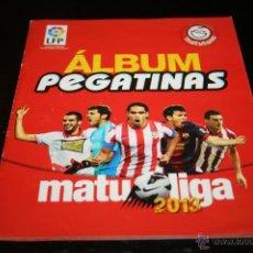 Álbum de fútbol completo: ÁLBUM COMPLETO PEGATINAS MATULIGA 2013. Lote 40308191