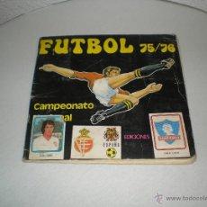 Álbum de fútbol completo: FUTBOL 75-76 DE EDICIONES VULCANO. Lote 40632568