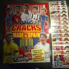 Álbum de fútbol completo: ÁLBUM CRACKS MADE IN SPAIN 2013 2014 AMPLIACION CROMOS ESTE LIGA FUTBOL 13 14. Lote 137282342