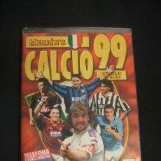 Álbum de fútbol completo: ALBUM DE FUTBOL COMPLETO - CALCIO 99 - 1999 - MERLIN COLLECTIONS - . Lote 41201072