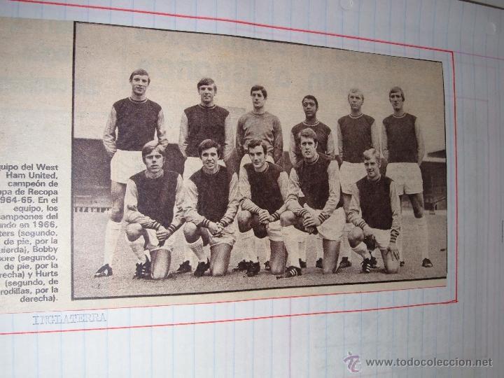 Álbum de fútbol completo: COLECCION EQUIPOS DE FUTBOL DEL MUNDO - Foto 2 - 41336368