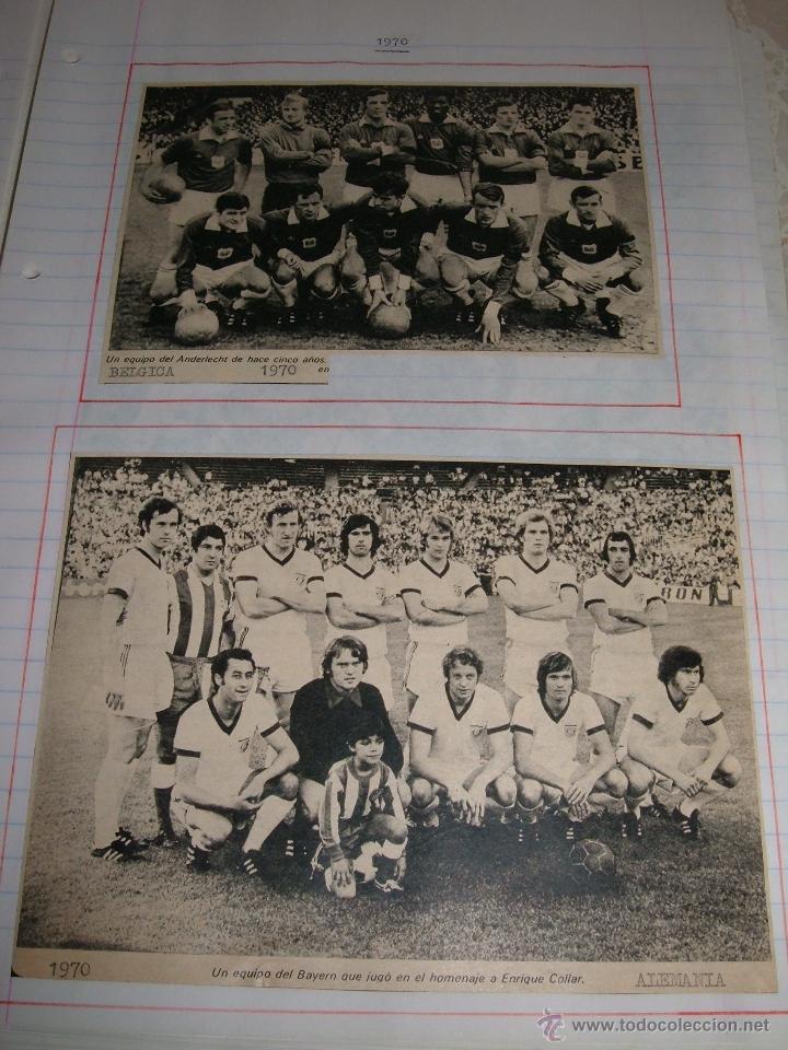 Álbum de fútbol completo: COLECCION EQUIPOS DE FUTBOL DEL MUNDO - Foto 3 - 41336368