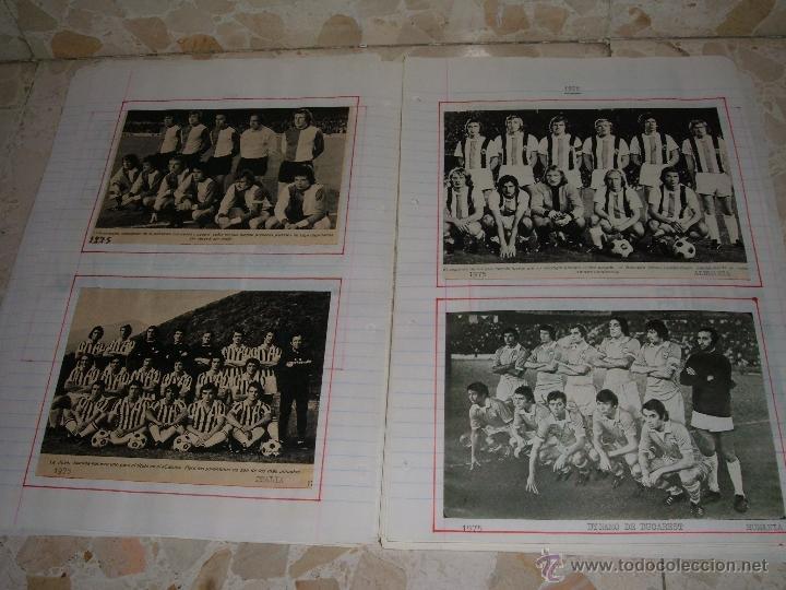 Álbum de fútbol completo: COLECCION EQUIPOS DE FUTBOL DEL MUNDO - Foto 6 - 41336368