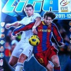 Álbum de fútbol completo: ESTE 11/12 COLECCION COMPLETA SIN PEGAR TODO LO EDITADO + ALBUM ERRORES + UF INVIERNO. Lote 41346817