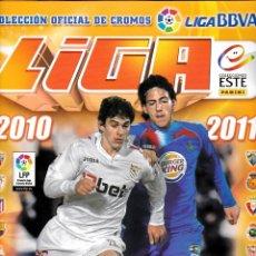 Álbum de fútbol completo: ESTE 2010/11 CASI COMPLETO CON LLORENTE CON EL ERROR ( UNICO EN TC )). Lote 41357844